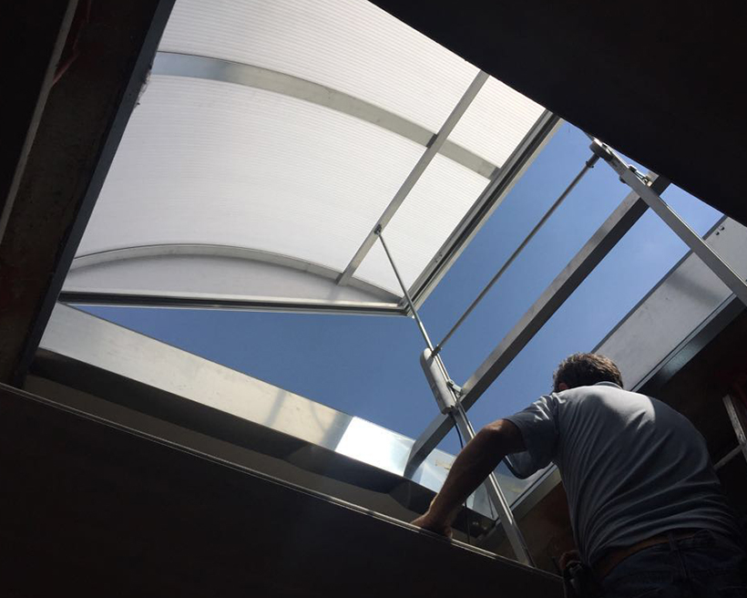 lucernari ad uso commerciale ed industriale